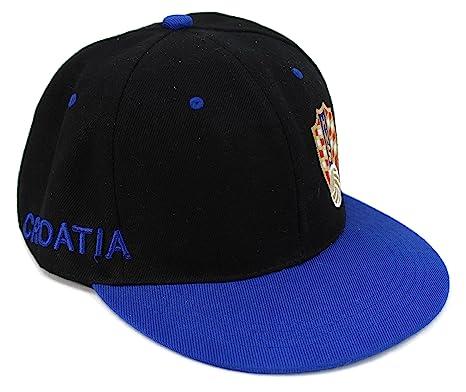 fc457838885 High End Hats World Football Soccer Team Flat Brim Hat Collection  Embroidered Adjustable Hip Hop