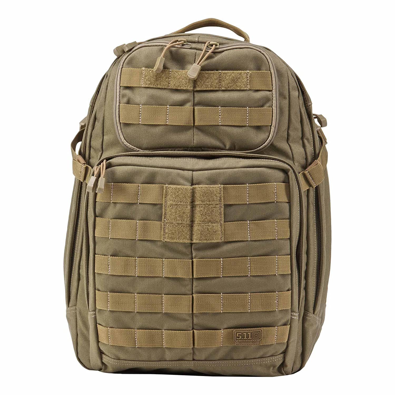 5.11 Tactical Rush - Mochilas tipo casual con cierre de cremallera, color marrón: Amazon.es: Deportes y aire libre
