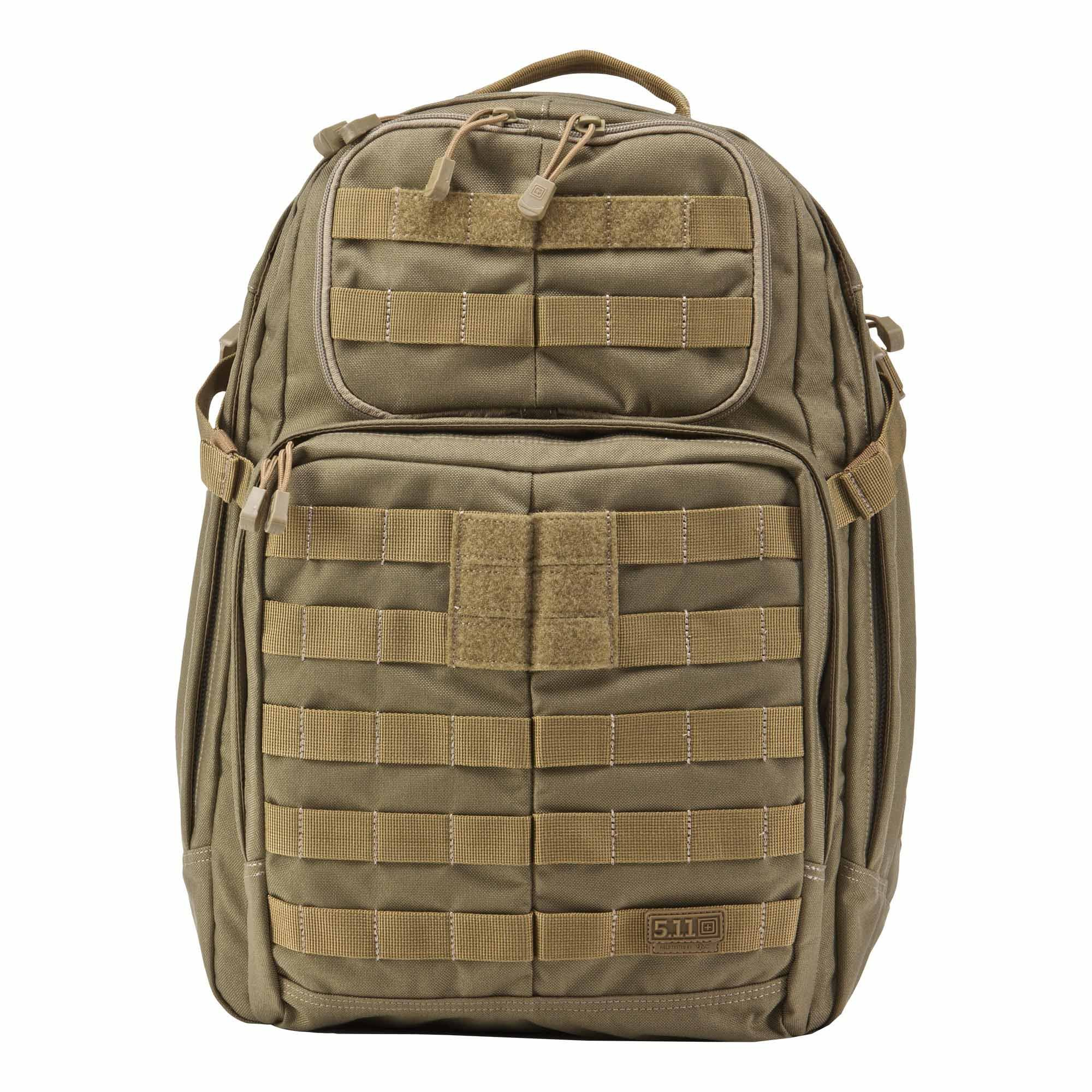 5.11 RUSH24 Tactical Backpack, Medium, Style 58601, Sandstone by 5.11