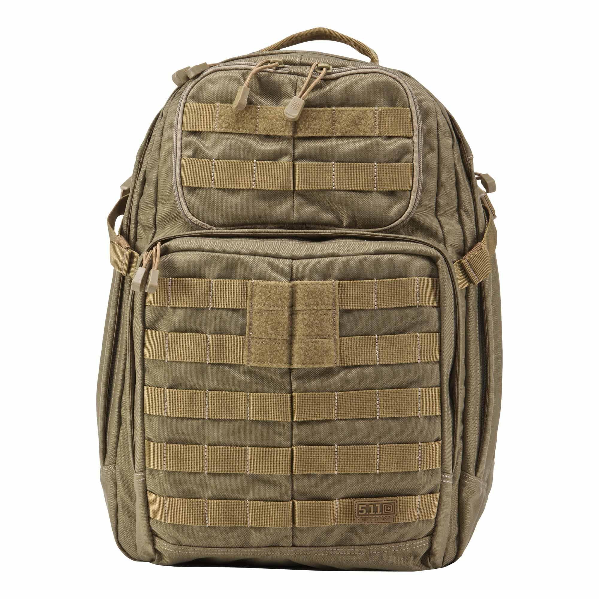 5.11 Tactical Rush - Mochilas tipo casual con cierre de cremallera, color marrón product image