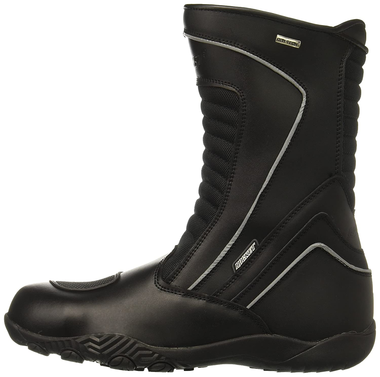 9f12d80cba4 Joe Rocket Men's Meteor FX Leather Motorcycle Riding Boot (Black ...