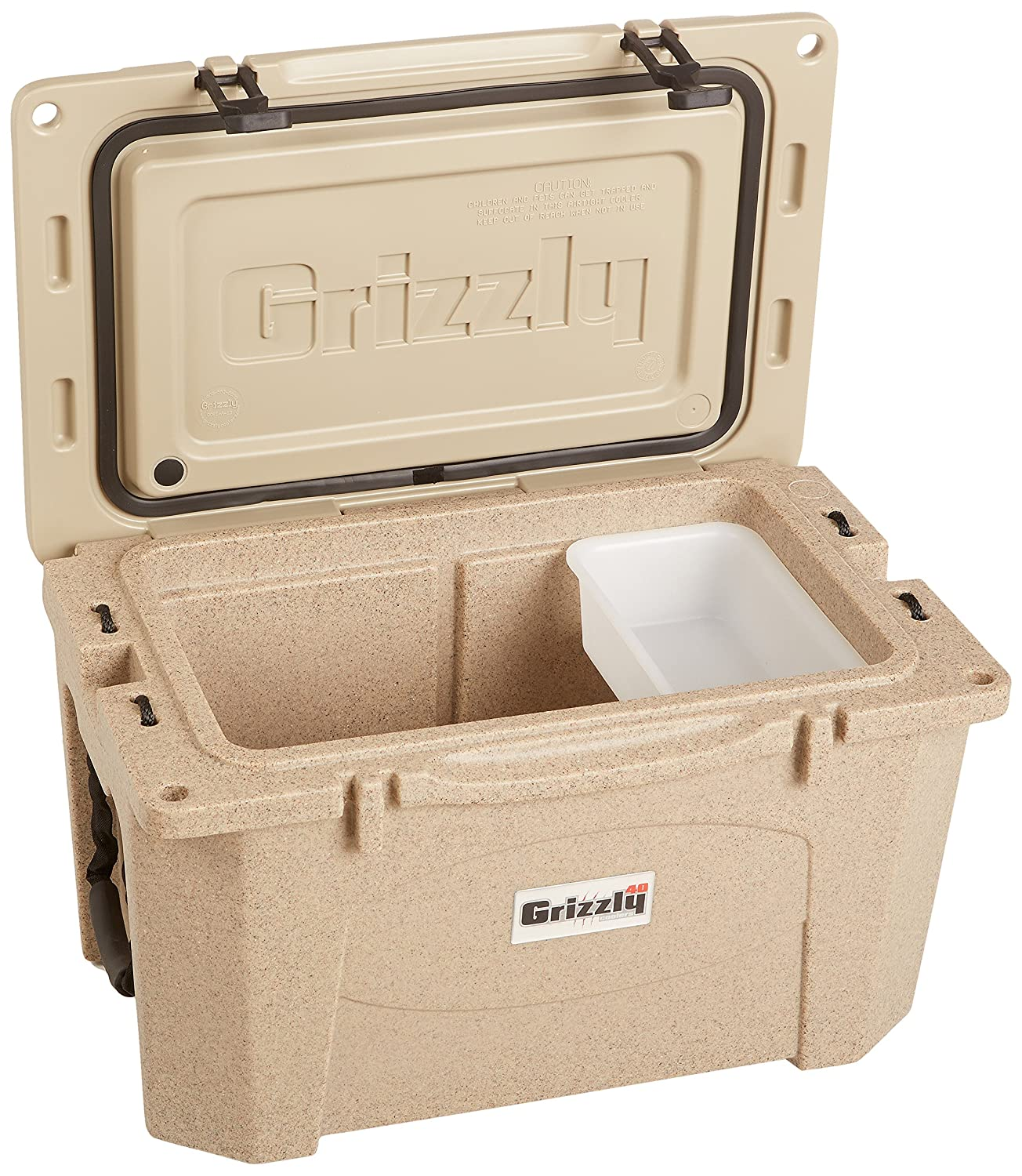 Amazon Grizzly Coolers Cooler Sandstone Tan 40 Quart