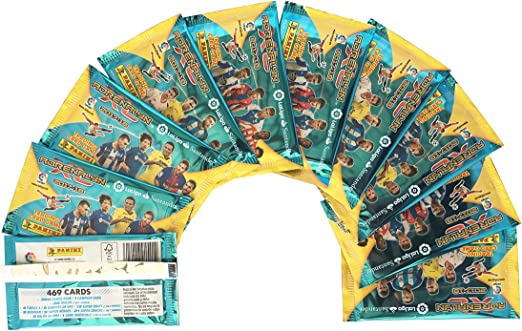 La Liga Santander- Adrenalyn XL Caja 50 Sobres (Panini 003506BOX50): Amazon.es: Juguetes y juegos
