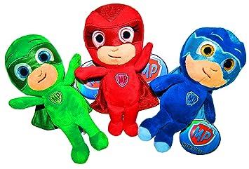 PJ Masks Plush, juguetes de peluche, original, 3 diferentes personajes disponibles! 22cm