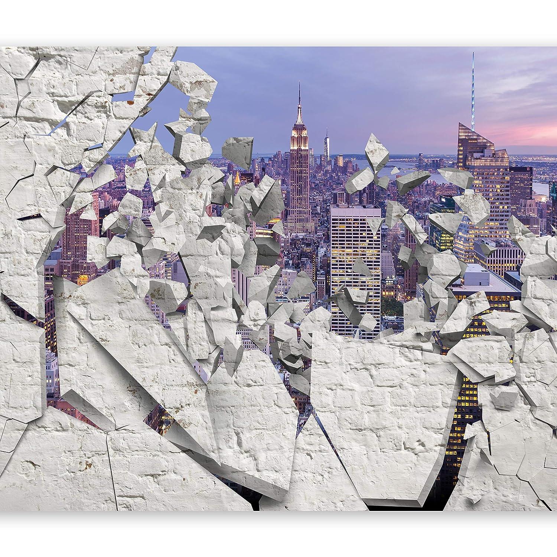 Murando - Fototapete 400x280 cm - Vlies Tapete - Moderne Wanddeko - Design Tapete - Wandtapete - Wand Dekoration - Stadt City New York d-A-0045-a-d