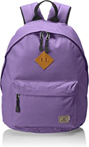 Everest Vintage Backpack, Eggplant Purple, One Size