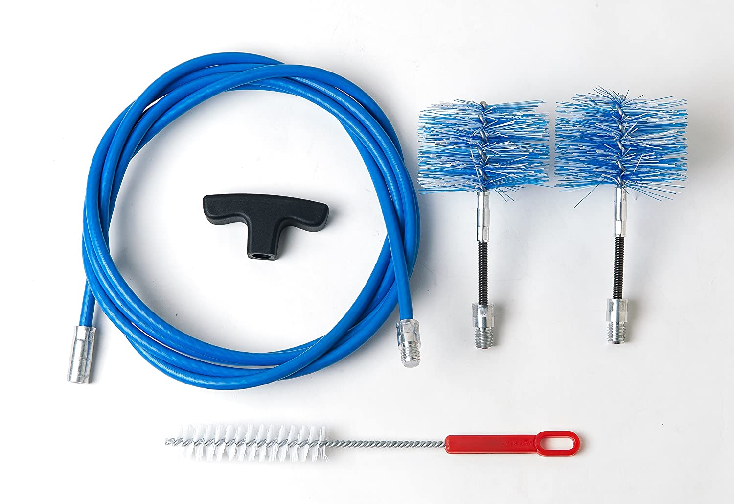 Cleaning kit for pellet stove - chimney sweeping kit - 3 metres - 2