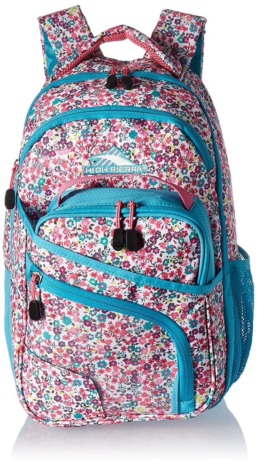 High Sierra Wiggie Lunch Kit Backpack Aquamarine/White High Sierra Sport Company 105187-5403