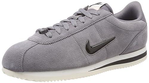 Nike Cortez Basic Se, Zapatillas para Hombre, Gris (Gunsmoke/Black-Sail 002), 45 EU: Amazon.es: Zapatos y complementos