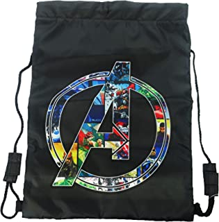 Marvel Trainer Bag Tote da palestra, 44 cm, Nero (Black)