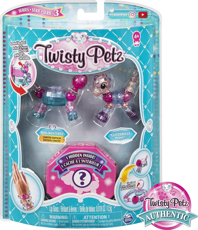 Twisty Petz Series 2 Milkshake Unicorn Pink Blue Gems Pony Figure Bracelet