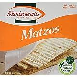 Manischewitz Matzos, 10 Oz. (Pack of 3)