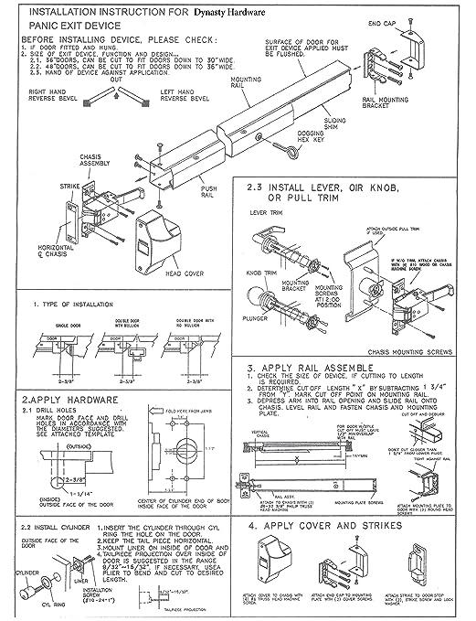 Panic Bar Lock Set Diagram - Circuit Wiring And Diagram Hub •