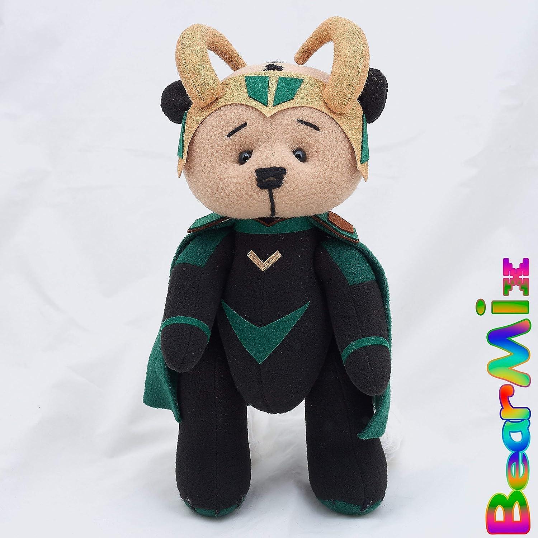 Amazon.com: Loki bear - Avengers Thor Ragnarok Marvel ...