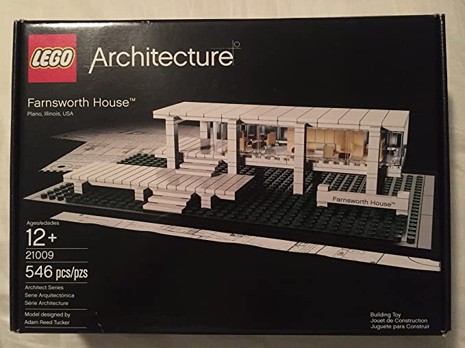 LEGO Architecture Farnsworth House 21009 (japan import): Amazon.es ...