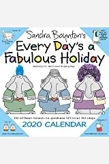 Sandra Boynton's Every Day's a Fabulous Holiday 2020 Wall Calendar Calendar