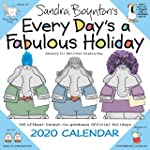 Sandra Boynton's Every Day's a Fabulous Holiday 2020 Wall Calendar