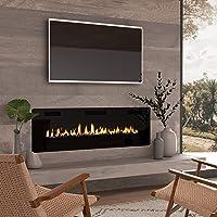 Deals on Cloud Mountain Finefind 60-in Electric Fireplace 750W/1500W