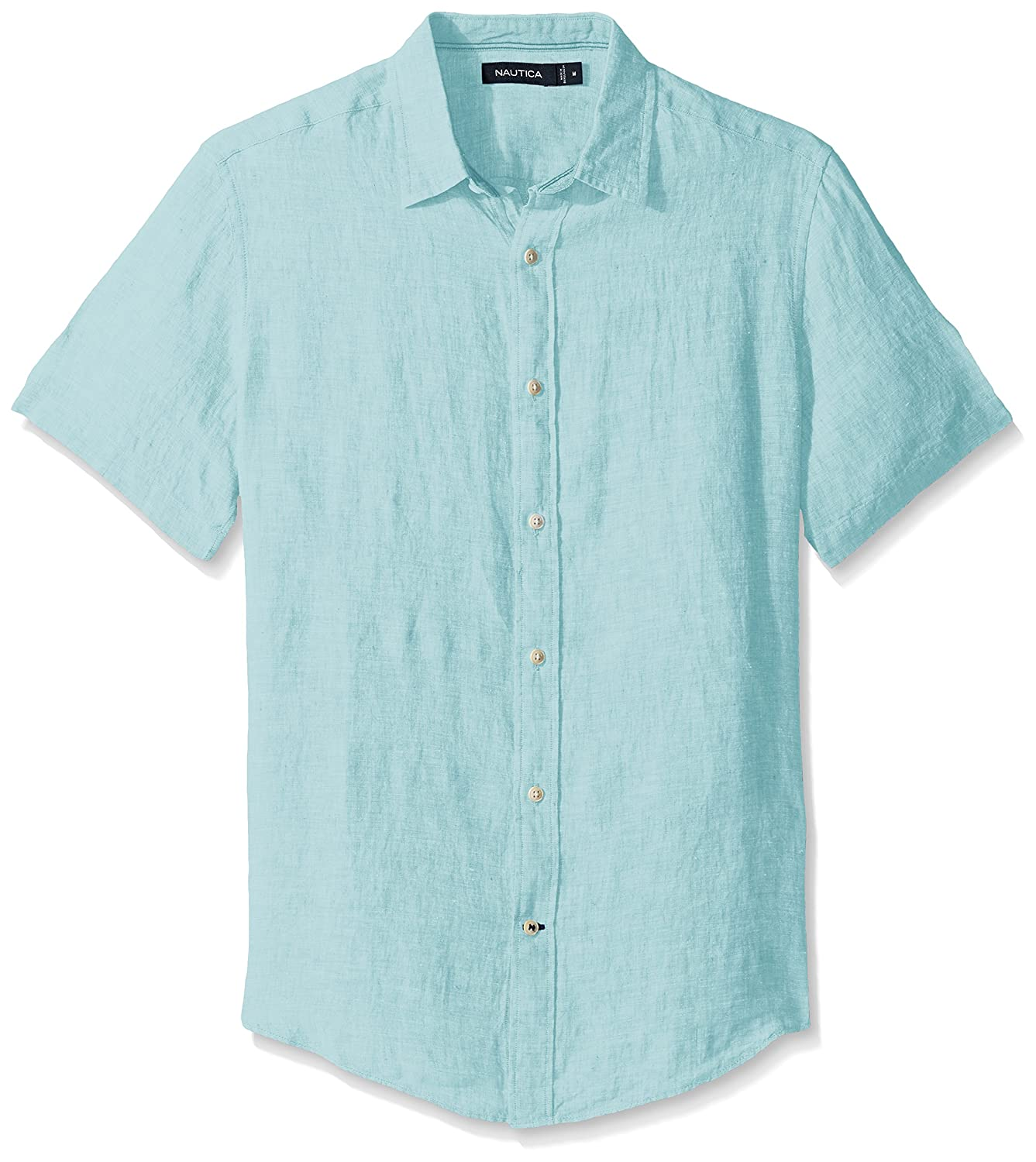Nautica Classic Fit Printed Chambray Short Sleeve Shirt Cheap Best Seller Cheap 100% Guaranteed 4C7rYPt3