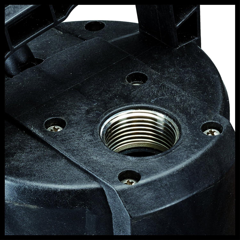 1100 W, Temp/érature de leau 35/°C, Longueur du c/âble : 15 m, Fonction automatique, Corps Inox, Interrupteur de surcharge Einhell Pompe immerg/ée automatique GE-PP 1100 N-A