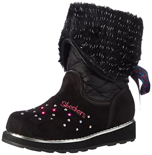 Skechers Sparkle Spell-Fold-n-Fab, Stivali Bambina