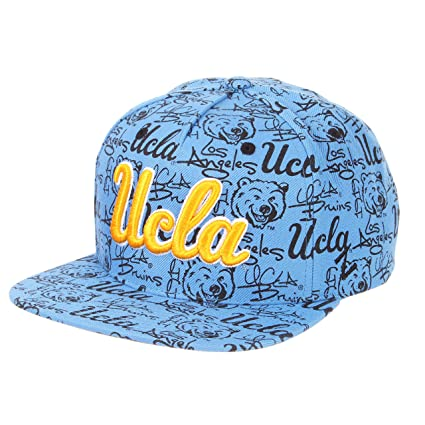 premium selection 77bb0 cf078 ZHATS NCAA UCLA Bruins Men s Manic Snapback Hat, Adjustable, ...