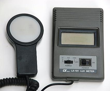 Romtek Lux Meter, Digital, For Light Intensity Measurement