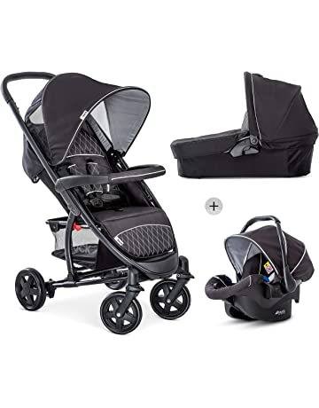 6ff54cc0977b Hauck Malibu 4 Trio Set, 3 in 1 Travel System from Birth up to 25
