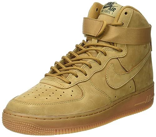 zapatillas nike hombre doradas