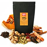 Savoury Tooth Pumpkin Masala Latte - Delicious Hot or Cold - Blend of Pumpkin and Aromatic Spices - Natural and Organic - Great in Lattes Smoothies and Baking - Detoxifies - Boosts your Immune System - Australian Made - 120g