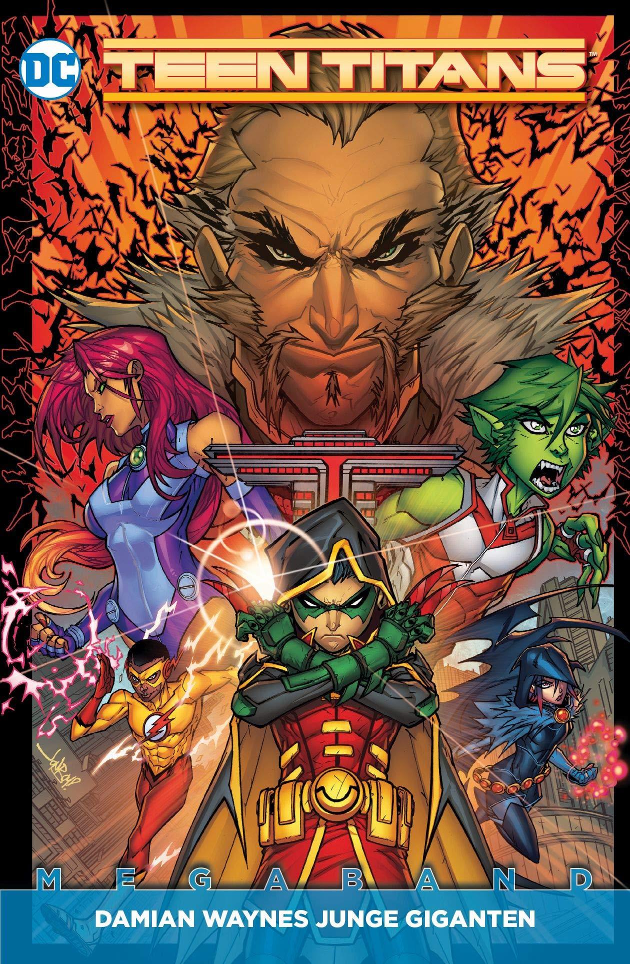 Teen Titans Megaband: Bd. 1 (2. Serie): Damian Waynes Junge Giganten Taschenbuch – 27. August 2018 Benjamin Percy Diogenes Neves Khoi Pham Jonboy Meyers