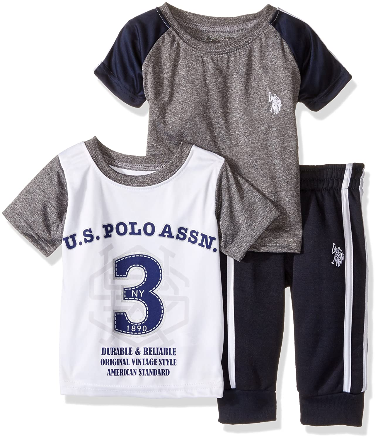 Amazon U S Polo Assn Baby Boys Space Dyed T Shirt Screen