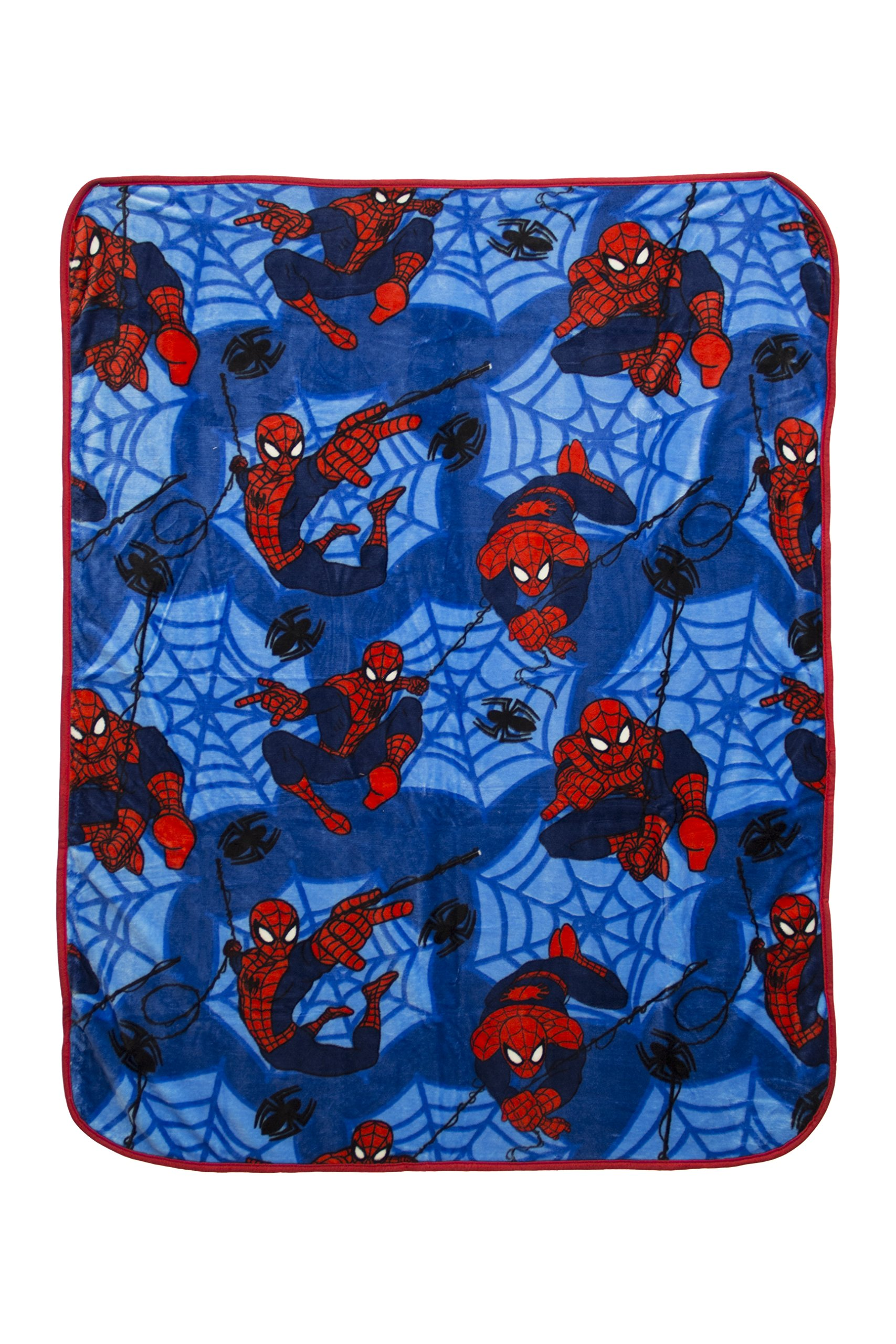 Marvel Spiderman Silk Touch Plush Throw