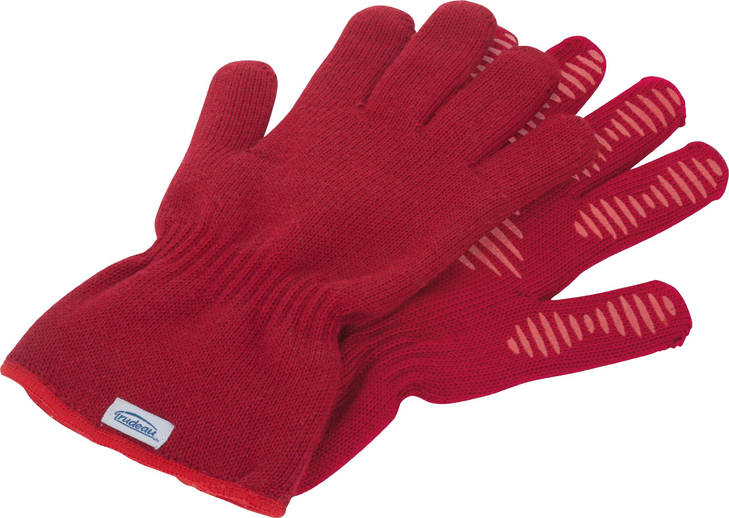 Trudeau 09911024 Kitchen Gloves, M-L, Red by Trudeau