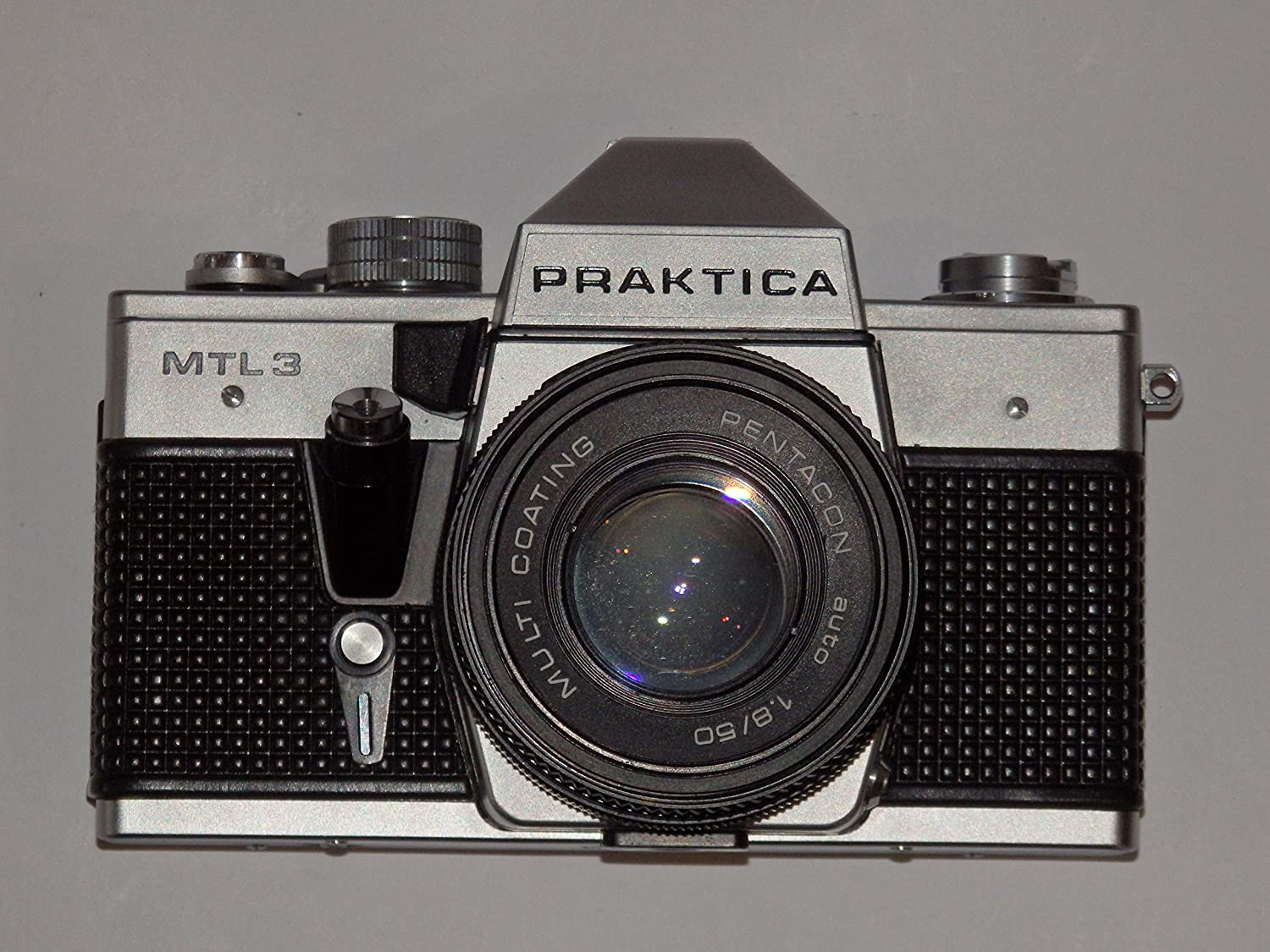 Pentacon slr camera praktica mtl made in gdr mit objektiv auto