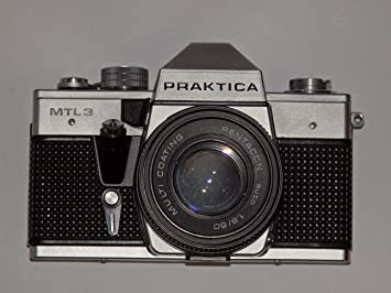 Pentacon slr camera praktica mtl made in gdr mit objektiv auto