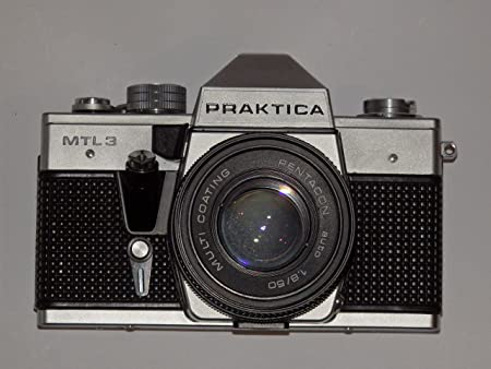Pentacon slr camera praktica mtl 3 made in gdr mit objektiv auto