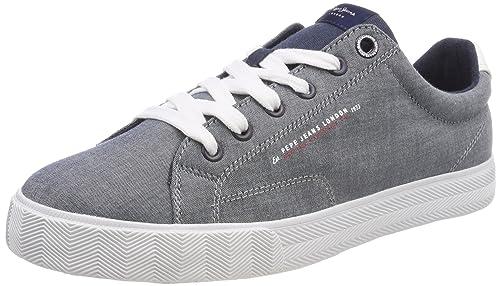 Pepe Jeans New North Fabric, Zapatillas Hombre: Amazon.es: Zapatos y complementos