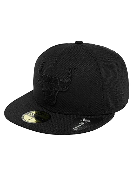 A NEW ERA Mujeres Gorras Gorra Plana Diamond Chicago Bulls 59Fifty 3ee7d337c6f