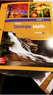 Glencoe Georgia Math Volume 2 Grade 7 Mcgrawhill Education