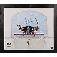 "Henrik Lundqvist New York Rangers Autographed 20"" x 24"" 400th Win Celebration Canvas - Fanatics Authentic Certified photo"