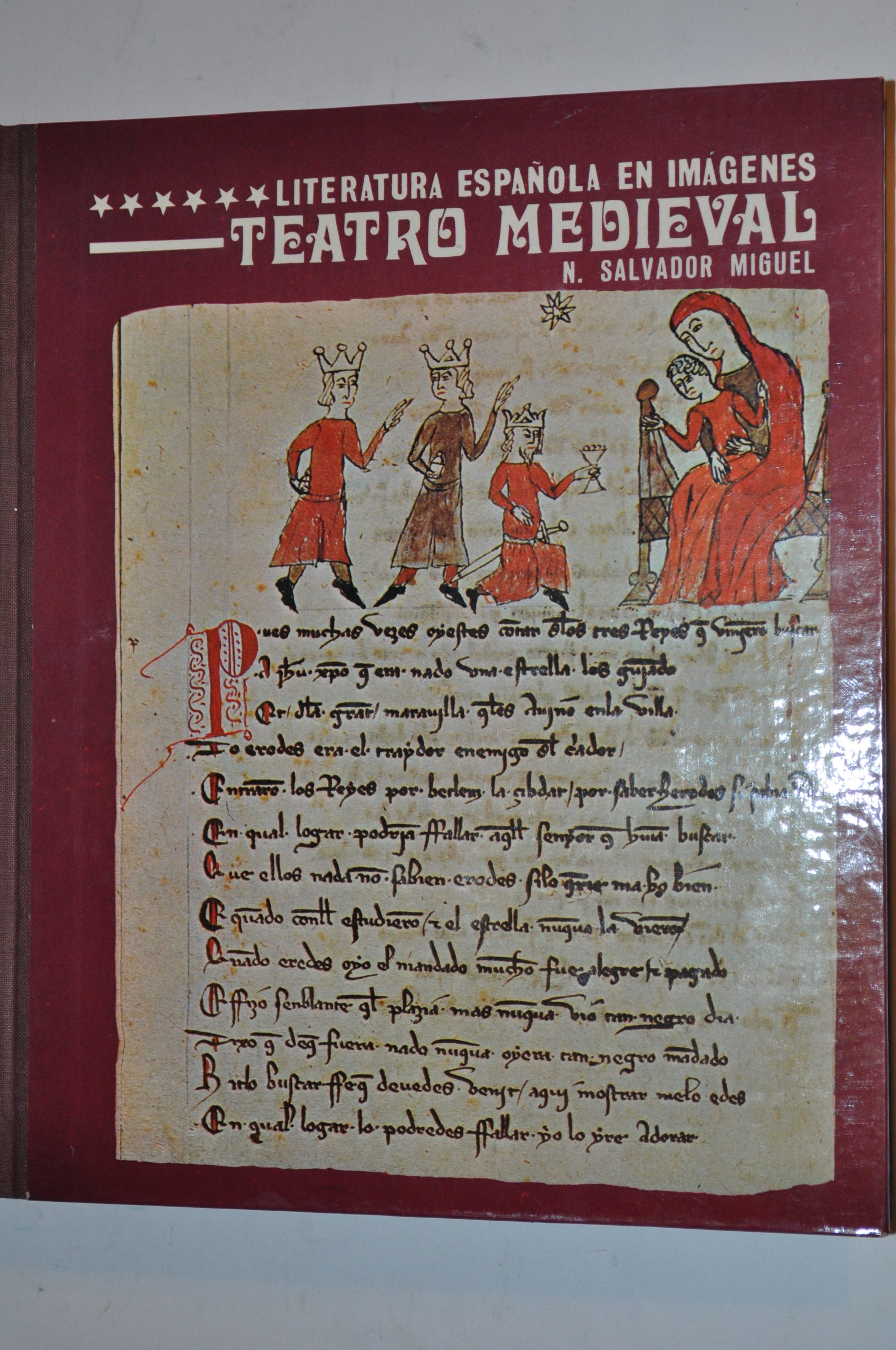 Teatro medieval (Literatura española en imágenes): Amazon.es: Salvador Miguel, Nicasio: Libros