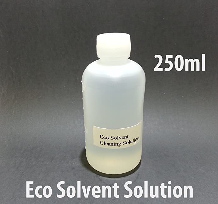 Eco Solvent Cleaning Solution 250ml For Mimaki Roland Mutoh Epson Ink Line Head Flushing Liquid