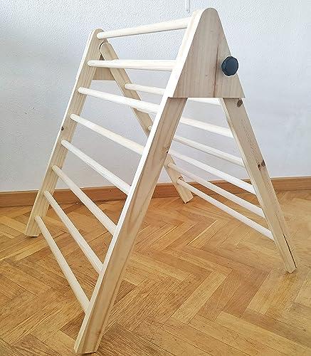 Triángulo de Pikler, Triángulo escalonado, Escalera para ...