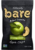 Bare Natural Apple Chips, Granny Smith, Gluten Free + Baked, 1.7 Ounce (Pack of 10)
