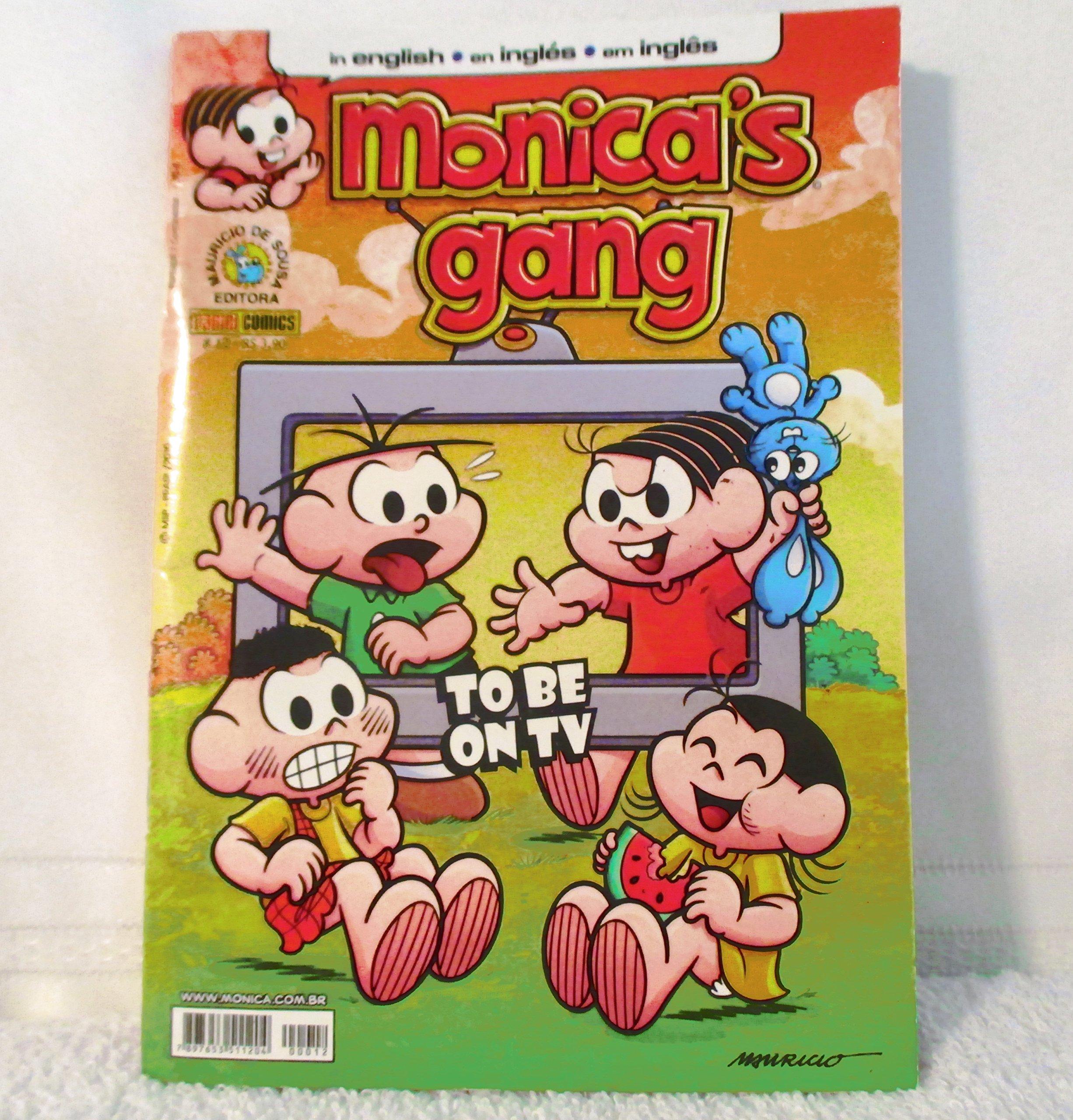 Monicas Gang Panini Comics Issue # 12 in english Brasil November / 2010 (Portuguese Brazilian) Staple Bound – 2010