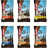 Clif Bar Filled Organic Energy Bar Variety Pack, 12 Count