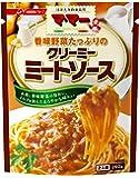 マ・マー 香味野菜たっぷりのクリーミーミートソース 260g×4個