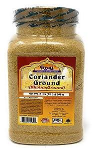 Rani Coriander Ground Powder (Indian Dhania) Spice 32oz (2lb) Bulk ~ All Natural, Salt-Free   Vegan   No Colors   Gluten Free Ingredients   NON-GMO   Indian Origin