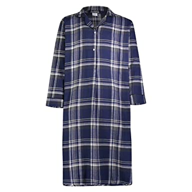 Bill Baileys Sleepwear Men s 100% Cotton Flannel Nightshirt Sleep Shirt at Amazon  Men s Clothing store  0ca767230